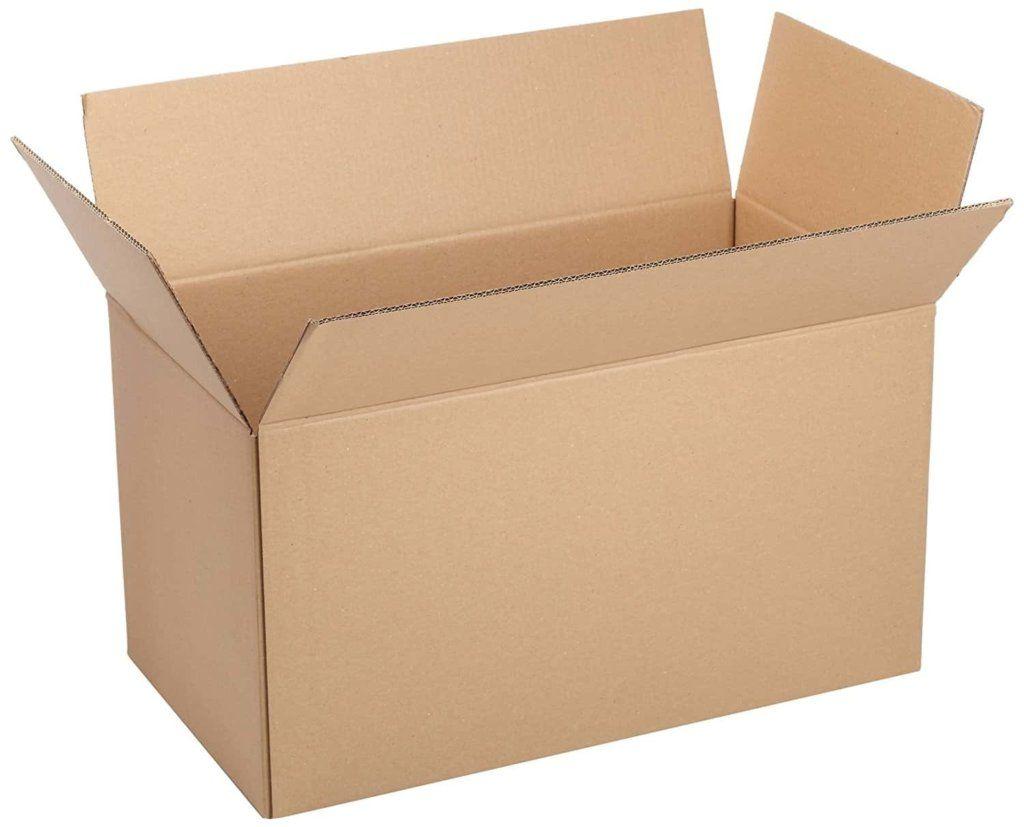 history of cardboard box