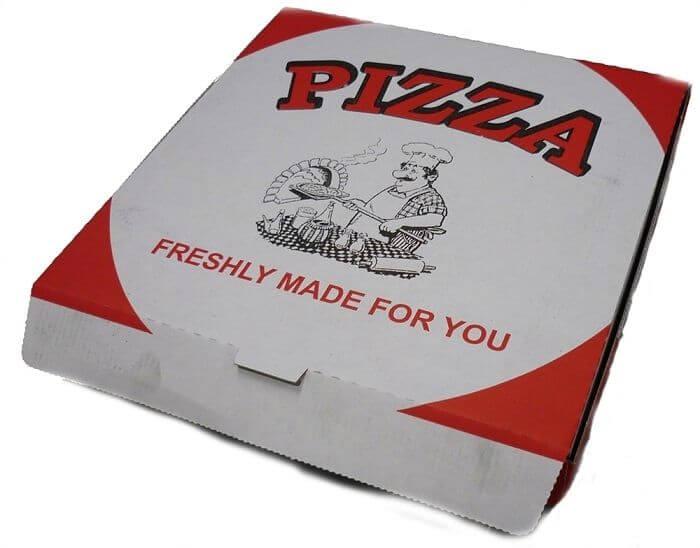 pizza box in delhi