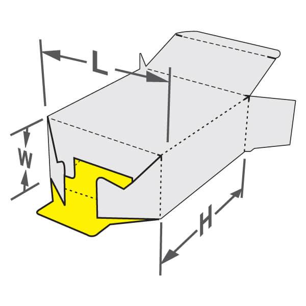 Bottom Lock Box